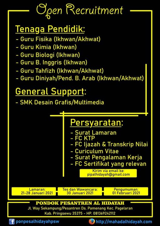 40+ Loker Bandar Lampung 2021 Images