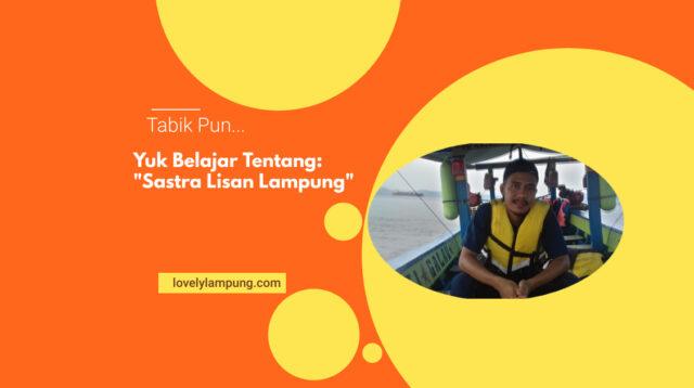 Sastra Lisan Lampung