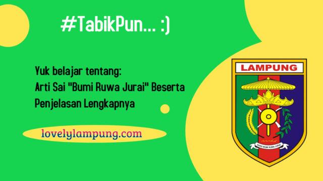 Sang Bumi Ruwa Jurai Lampung